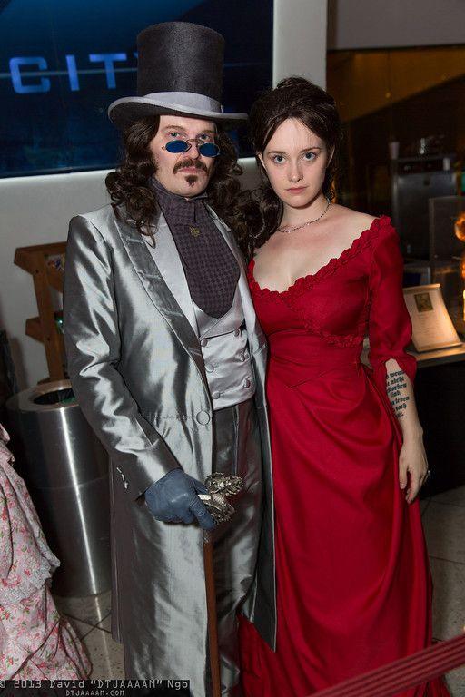 Dracula And Mina Harker Dragon Con 2013