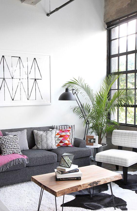 Home Decor: Black And White Colour Palette To Create A Minimalistic ...