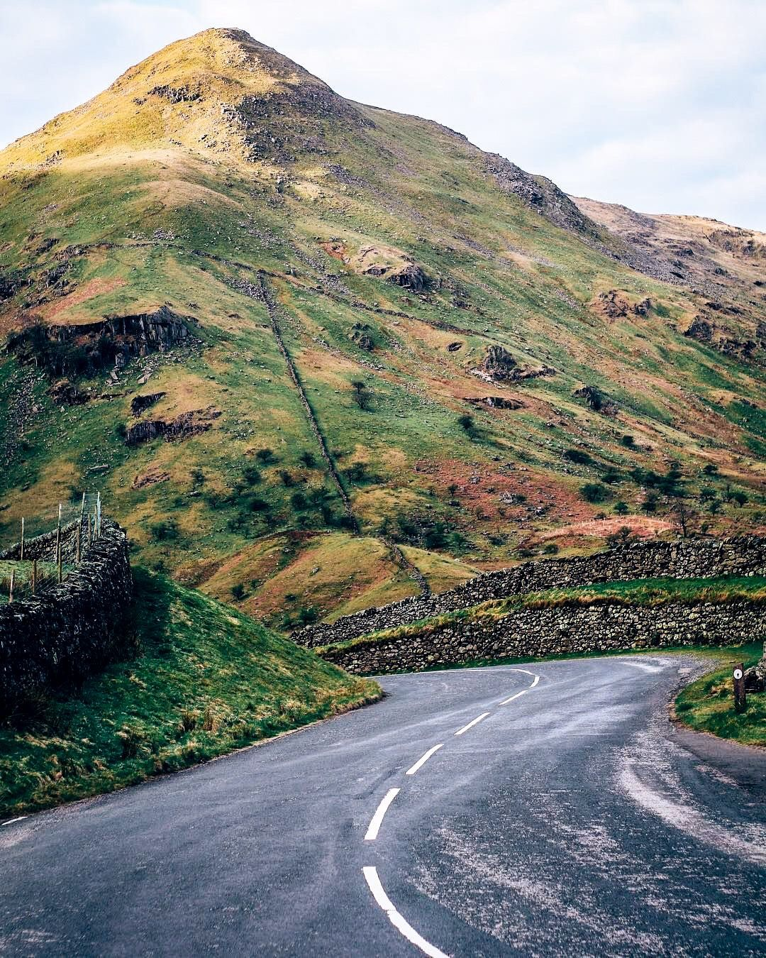 Nothing But Open Roads Kirkstone Pass Lake District England By William J Brooks Wjbrooks On Instagram Scenic Routes Lake District Scenic