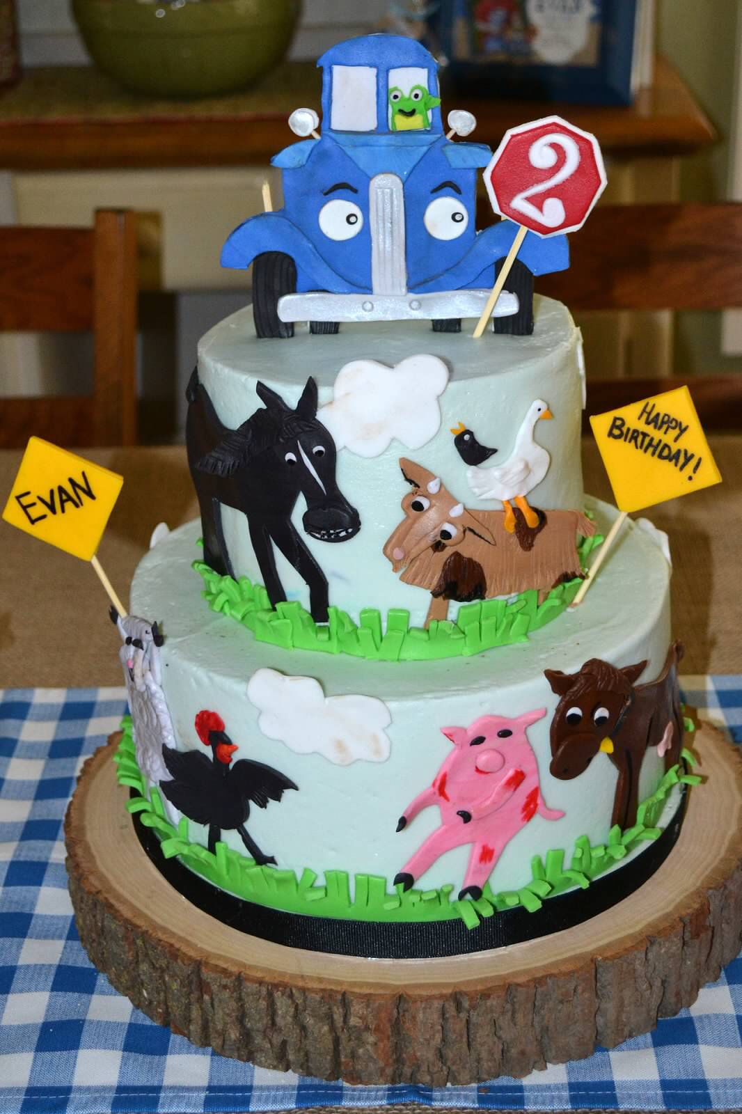 Little Blue Truck Cake By Dena Kyle Truck Birthday Cakes Boy