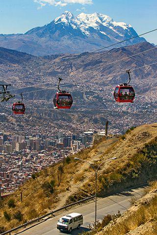 Teleférico La Paz Bolivia Bolivia Travel South America Travel Bolivia Peru