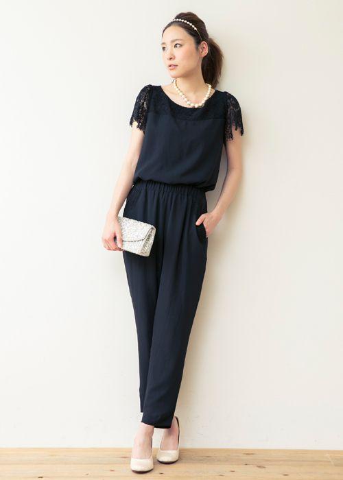 Vec おしゃれまとめの人気アイデア Pinterest Mai U68 ジャンプスーツ パンツドレス お呼ばれ ドレス