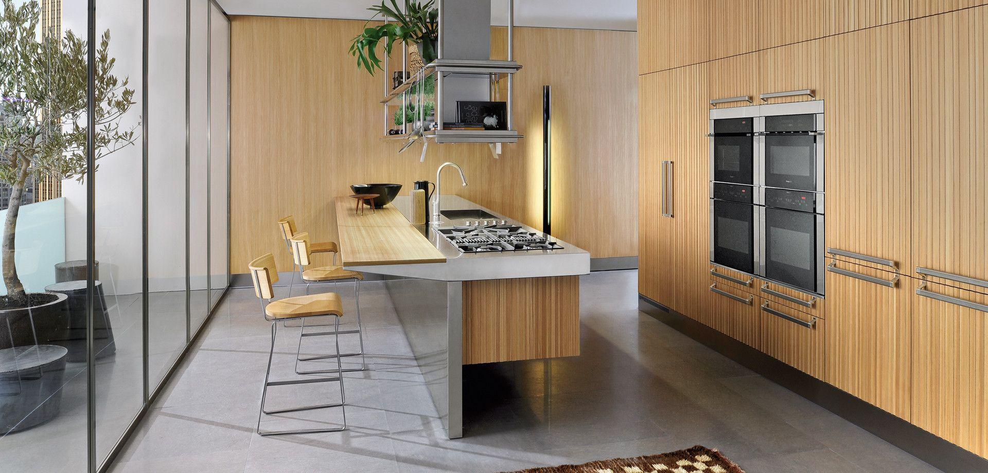 Kitchens LIGNUM ET LAPIS Produits Arclinea