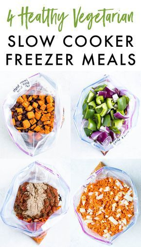 19 meal prep recipes vegetarian freezer ideas