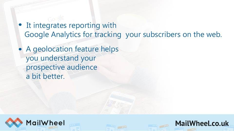 https://MailWheel.co.uk - MailWheel provides a set of very powerful email marketing tools that are easy to use and give all businesses a striking boost.  Send up to 12,000 Emails per Month! No Contract or Credit Card Required. Get a Free Account Now - https://MailWheel.co.uk