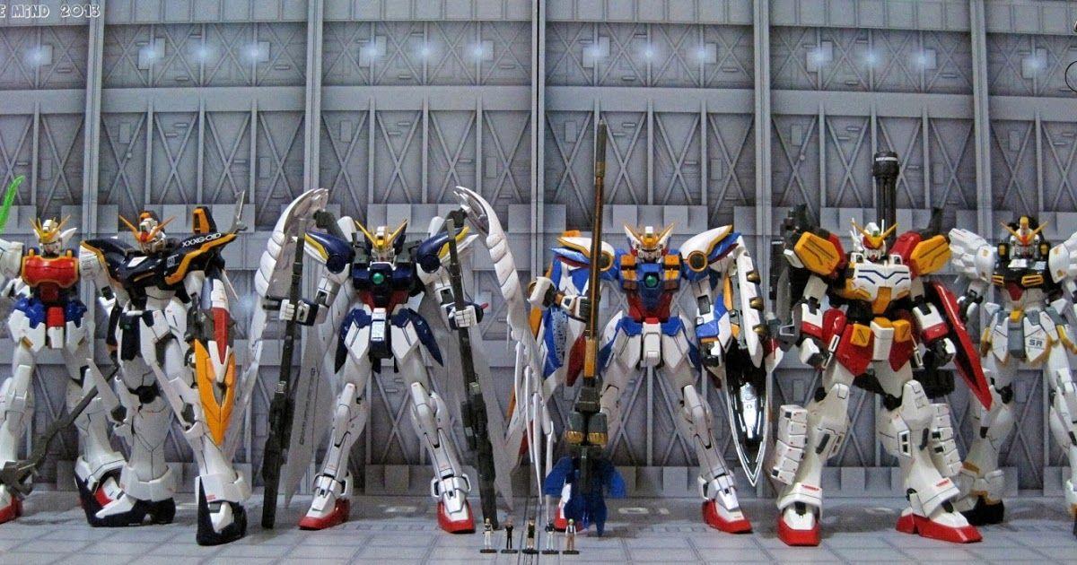 Mg Xxxg 01w Wing Gundam Ver Ka Mg Xxxg 00w0 Wing Gundam Zero Custom Ew Mg Xxxg 01d Gundam Deathscythe Ew Mobile Suit Gundam Wing Gundam Wing Gundam Wallpapers