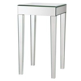 Charmant Mirrored Side Table : Target Mobile