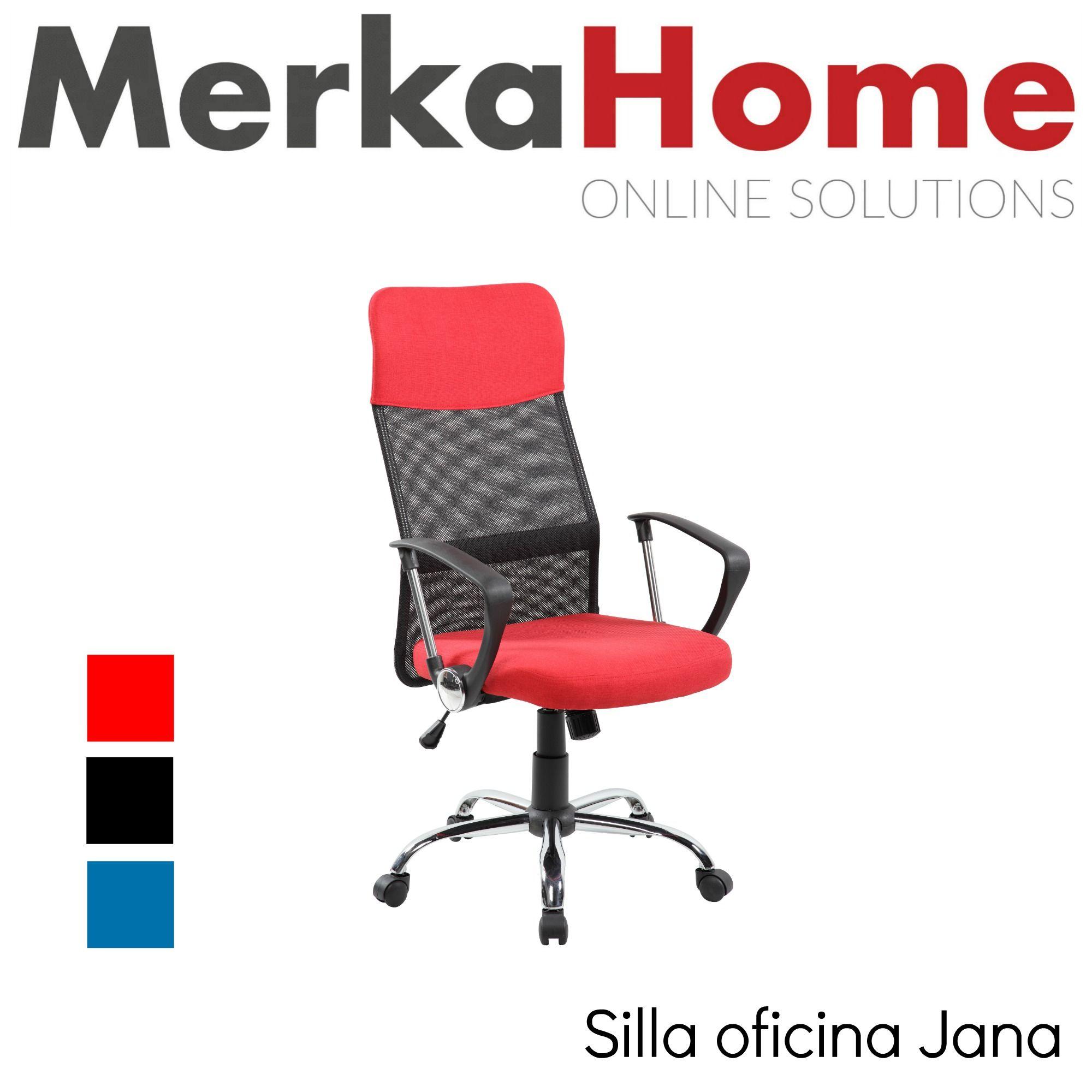 Silla De Oficina Ergonomica Jana Sillas De Oficina Oficinas Sillas