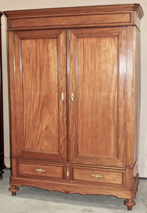 Antique French Louis Philippe Armoire Formal Inessa Stewart S