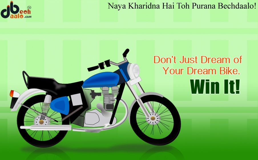 Don\'t Just Dream of your dream bike...Win It! | Buy and Sell Used ...