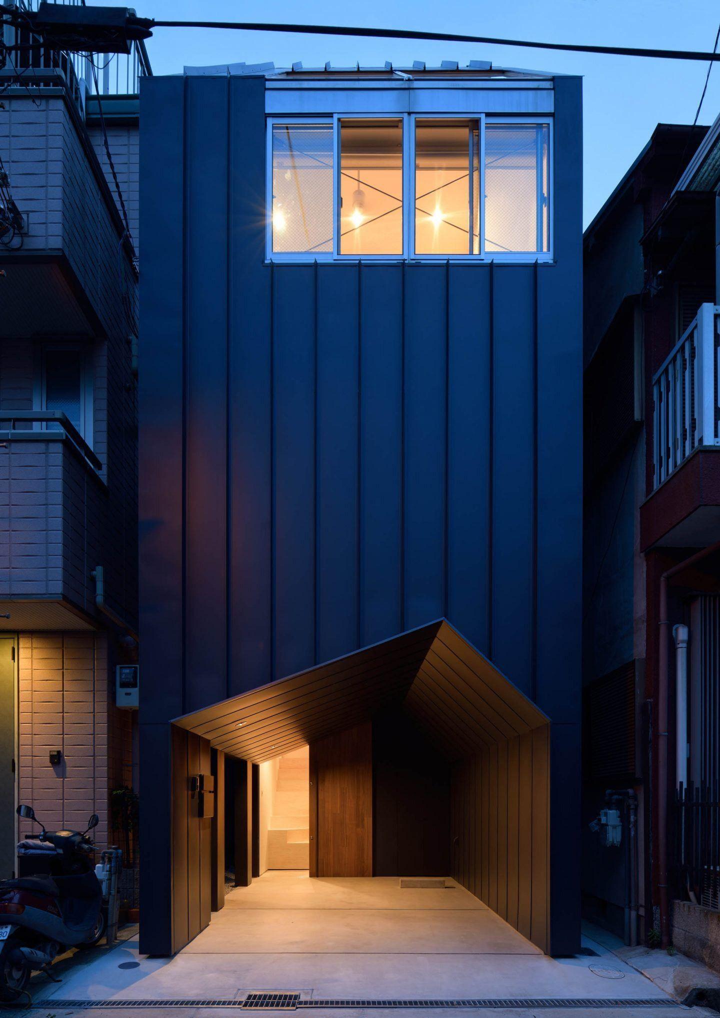 Ymt House A Osaka Par Le Cabinet D Architecture Geneto Maison