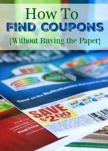 94403e7a4d39 saving coupons with colorful product packages in the background ...