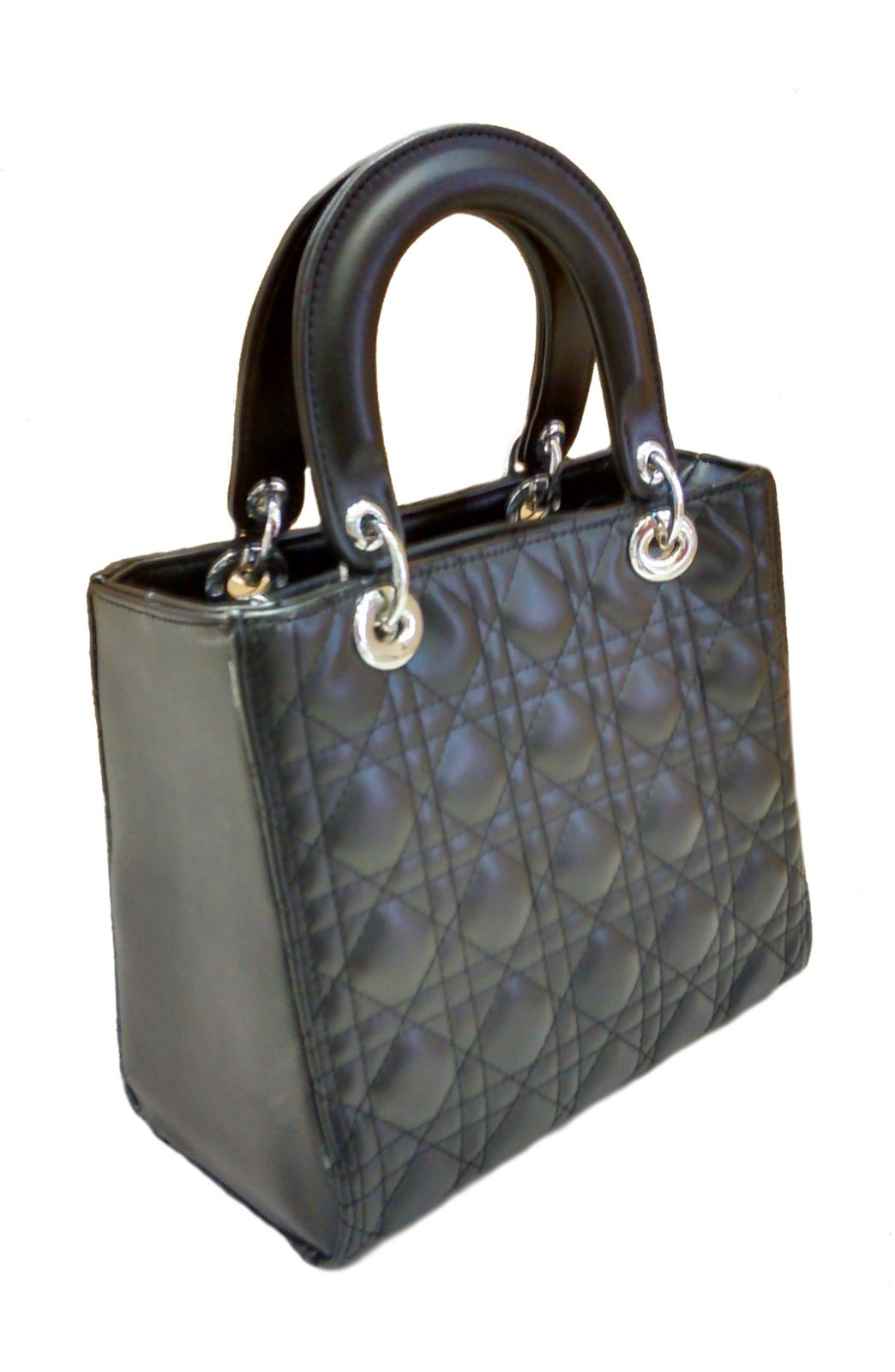 Real Small Bag Black Matelassê Art