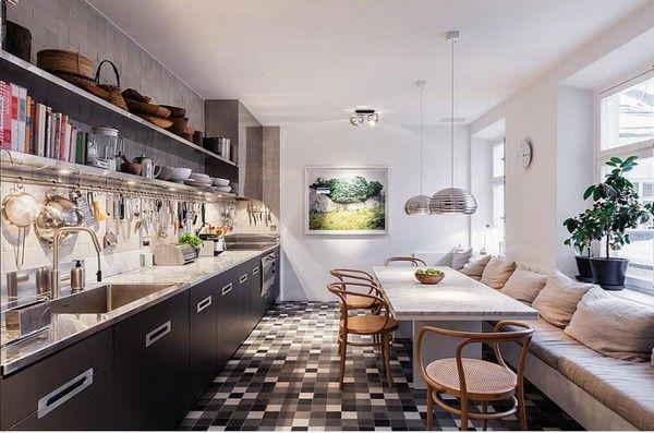 luxus maisonette exklusives interieur küche Estilo Livre Pinterest - küchen luxus design