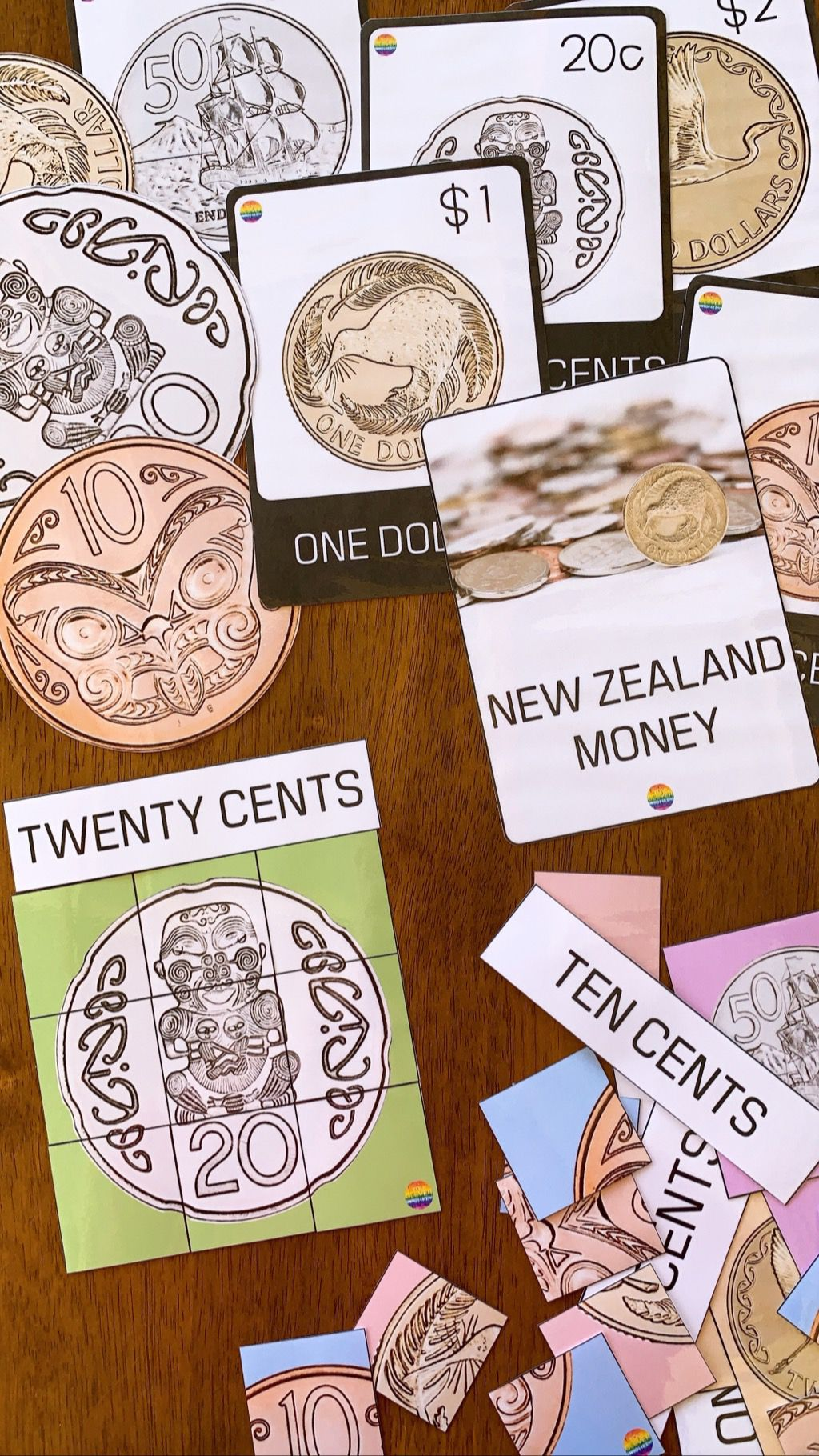 This New Zealand Money Pack Focusing On New Zealand Coins
