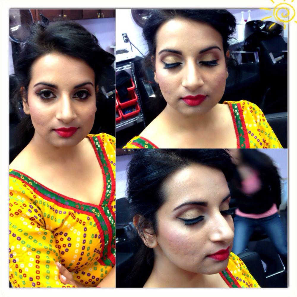 Indian wedding makeup #makeupbymacfreak30