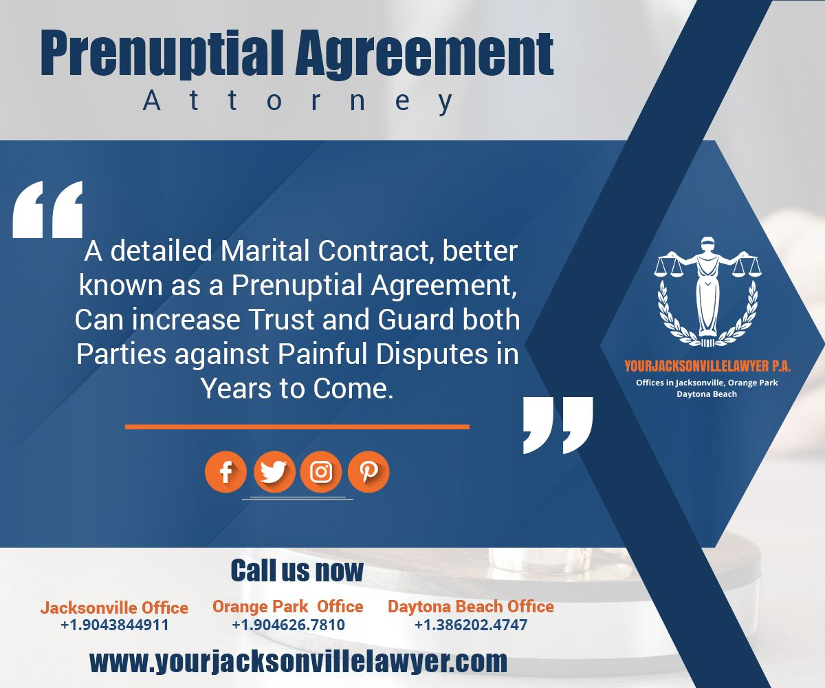 A Detailed Marital Contract Better Known As A Prenuptial