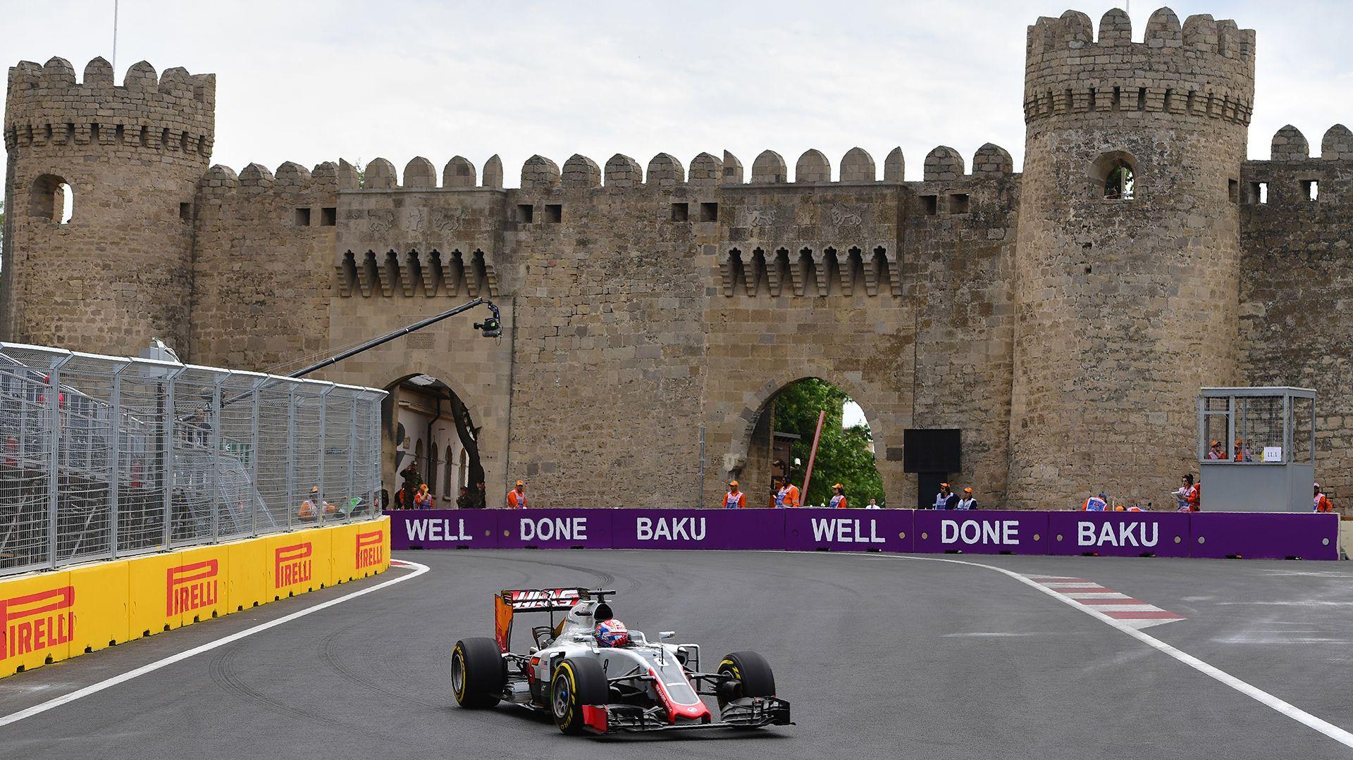 Circuito Urbano De Baku : Vettel saldrá desde la pole en gp de azerbaiyán ´checo´ pérez es