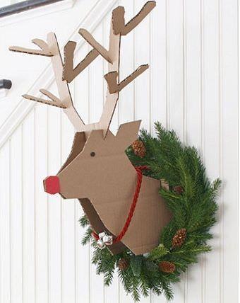 adornos de navidad reciclados ITC Pinterest Adornos de navidad