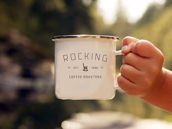 Classic camp mug. Brings back wholesome feeling of outdoors.
