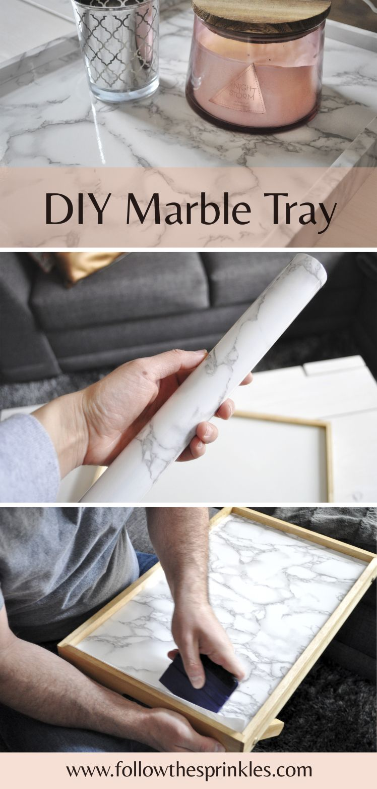 Diy faux marble tray diy project for an organized desk coffee diy project for an organized desk coffee table kitchen or office marble it yourself easy and very useful diy tray solutioingenieria Image collections