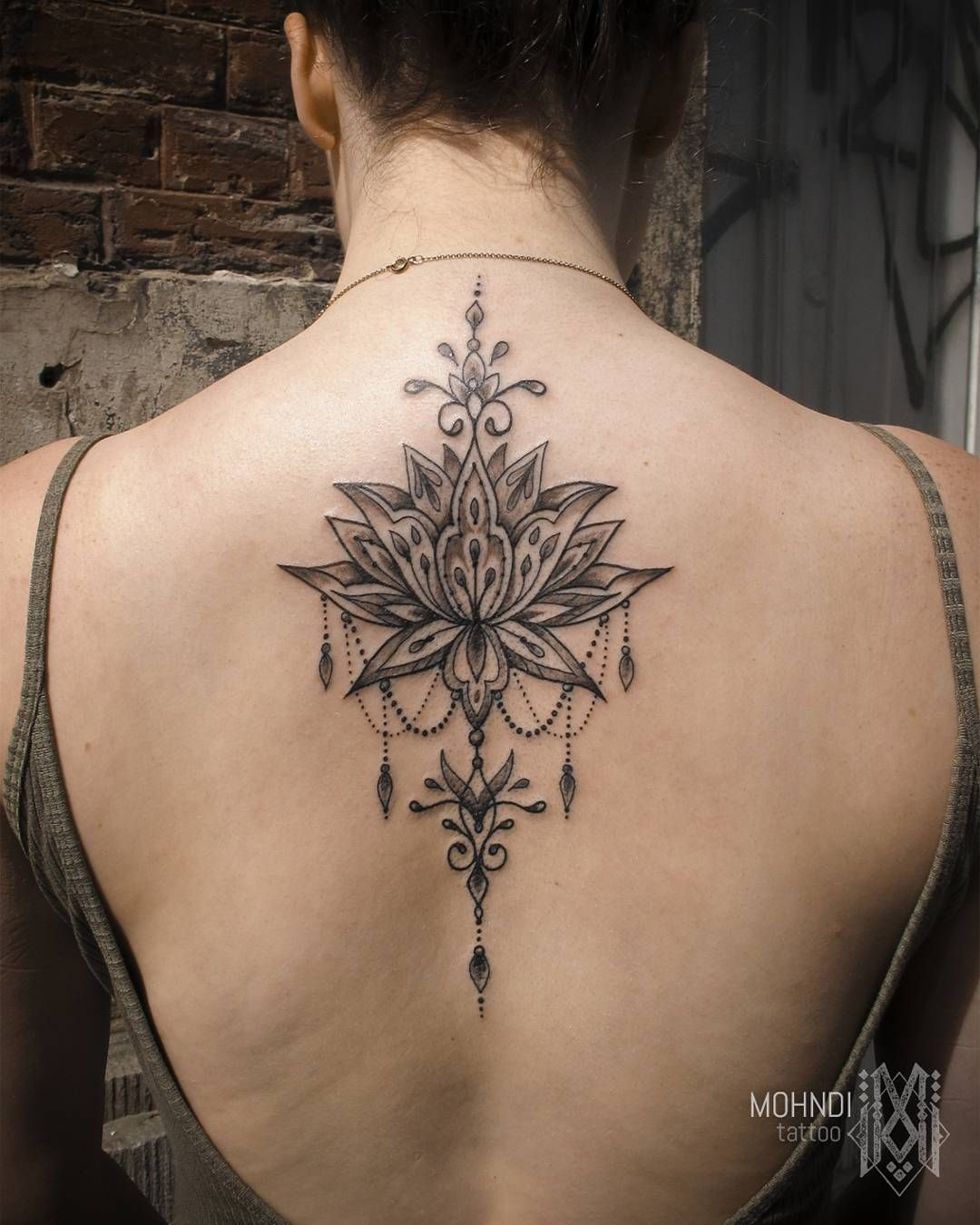 Lotusdala Jewel Lotus Tattoo By Mo Mohndi