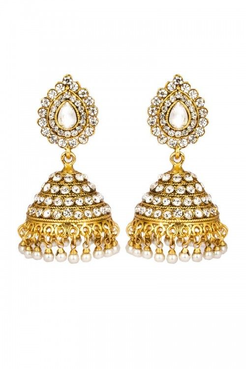 Buy New Arrival Designer Jhumka for Women at affordable price