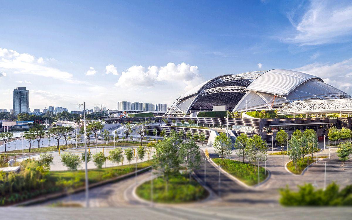 Singapore Sports Hub CreativeCodecraft Dp architects