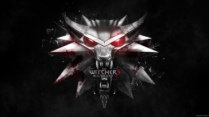 The Witcher 3 4k Logo Wallpaper Syanart The Witcher The Witcher Wild Hunt The Witcher 3