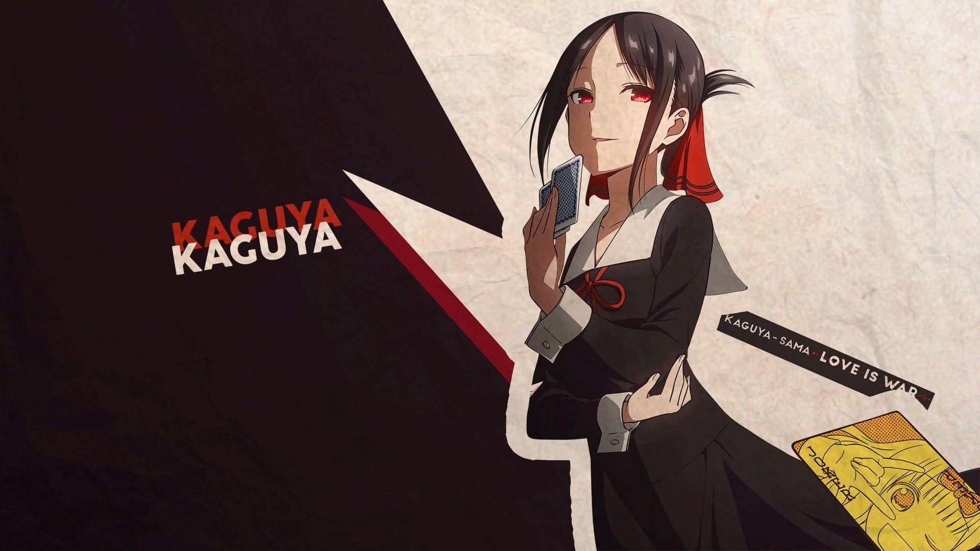 Anime kaguyasama love is war kaguya shinomiya 1080p
