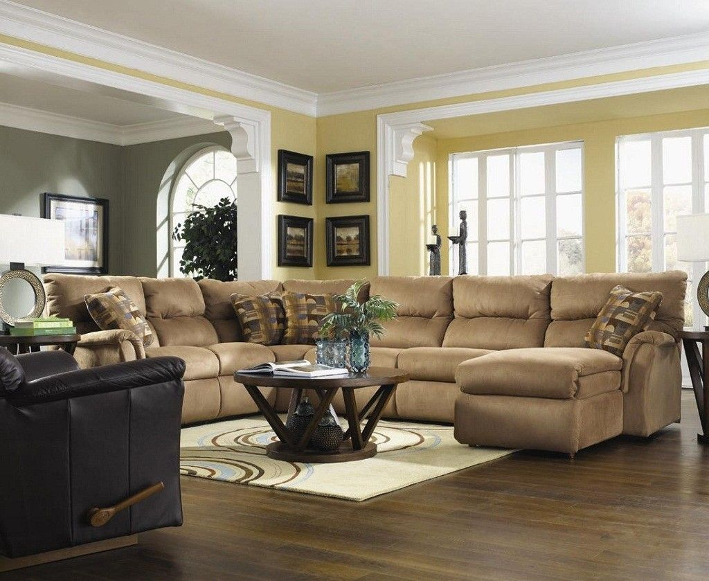 Living Room Smart Living Room Design Ideas With L Shaped ...
