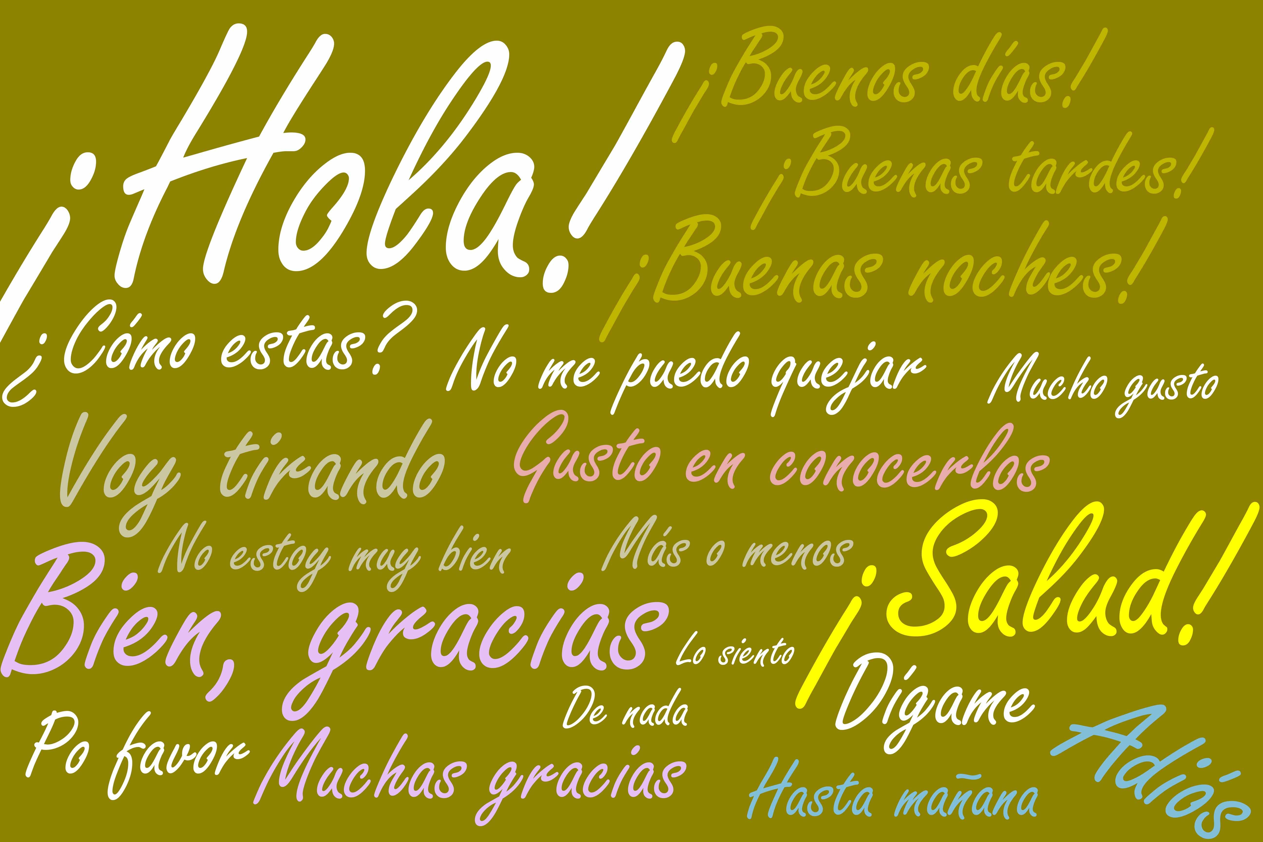 Welcome On My Web Page About Spanish Lessons Espanishlessons Com Goodbye In Spanish How To Speak Spanish Learning Spanish
