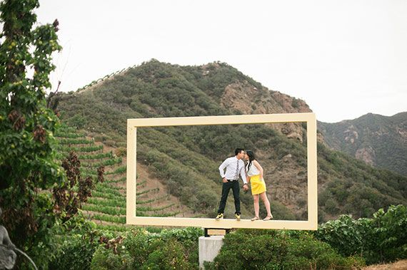 Saddlerock Ranch engagement | photo by Christine Choi | 100 Layer Cake