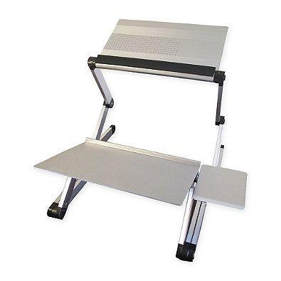 Workez Standing Desk Conversion Kit With Tilt Keyboard Standing