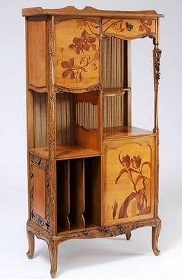 Art Nouveau Furniture Design By Louis Majorelle (1859u20131926). French  Decorator And