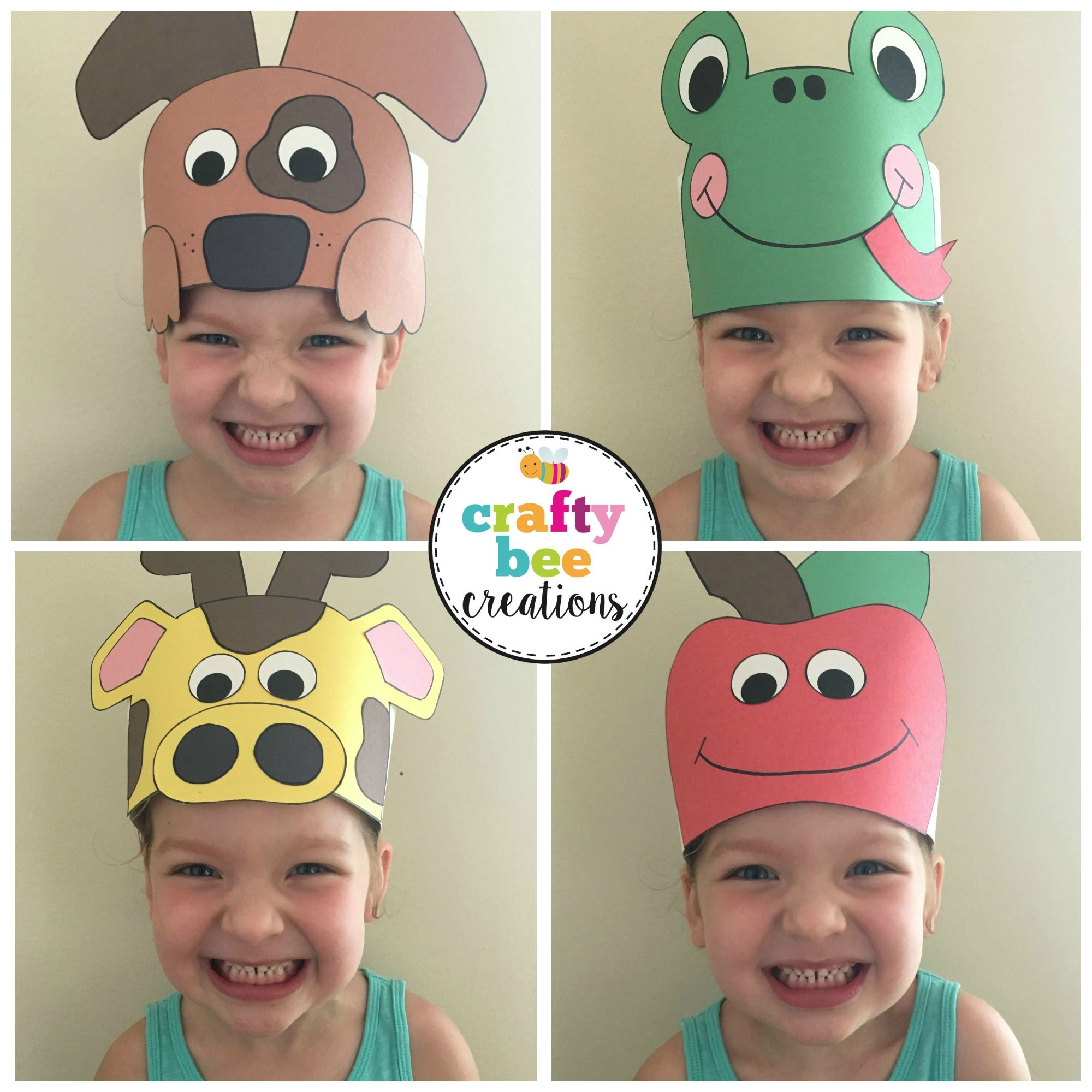 a281671e7ed Cutest A to Z Animal Hats ever! Kids will not only love wearing them