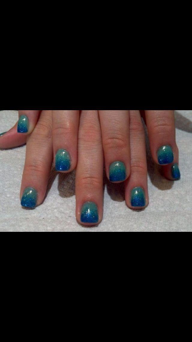 Mermaid Hombre Nail Art Nails Pinterest