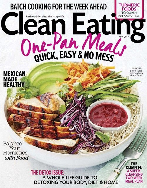 Clean eating may 2017 revistas 3 pinterest clean eating and clean eating may 2017 forumfinder Image collections