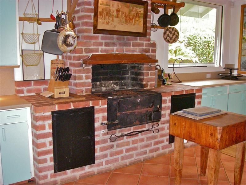 Really Cool Idea, It May Be A Challenge To Integrate Into A New Home  Construction. Brick OvensSummer KitchenKula ...