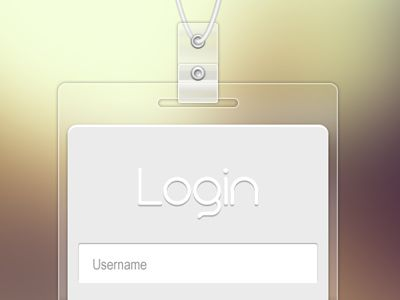 Login Badge