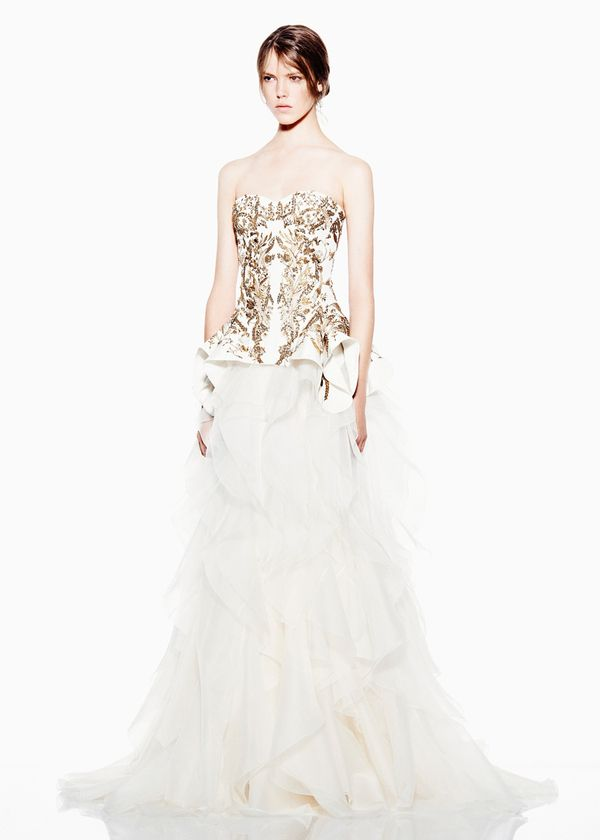 Covet-able Clothes From Alexander McQueen 2012