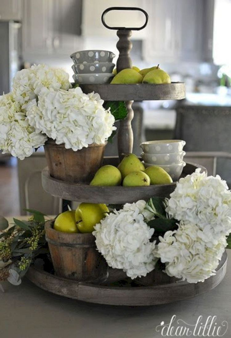 Farmhouse Table Decor Easy Functional Countertop Or Tabletop Storage Rustic Galvanized 3 Kitchen Design Decor Farmhouse Kitchen Decor Home Decor Accessories