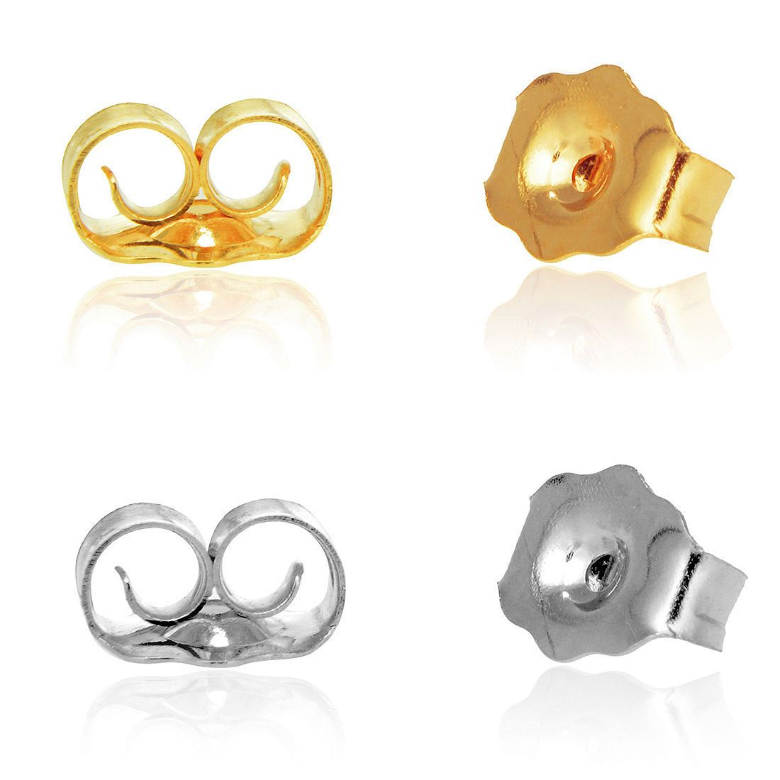 Cliffside Jewelers - 14K Yellow Or White Gold Ear Nuts Butterfly Replacement Heavy Earring Backs, $13.00 (http://www.cliffsidejewelers.com/14k-yellow-or-white-gold-ear-nuts-butterfly-replacement-heavy-earring-backs/)