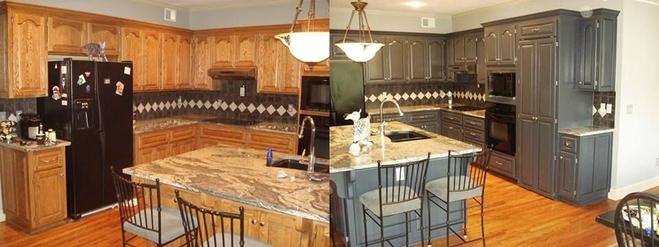 Opaque Cabinet Color Change | NHance Revolutionary Wood ...