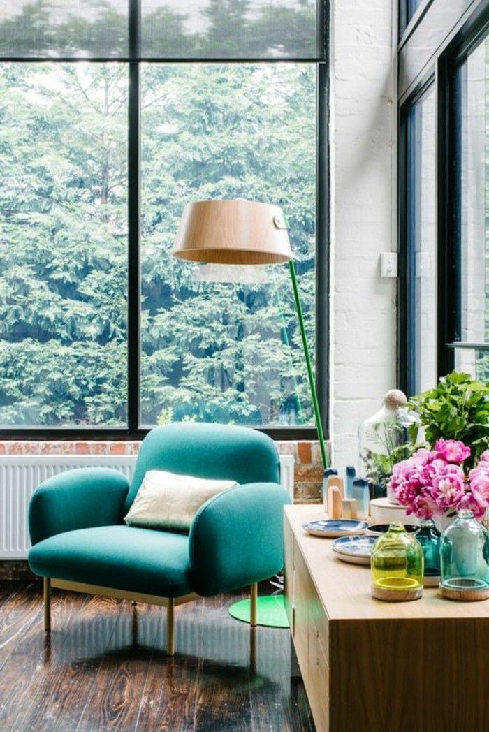 Design Wohnzimmer Sitzecke Mit Blumen | Wohnzimmer Design
