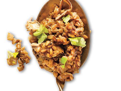 Vegan Holiday Menu | Turkey Day | Stuffed mushrooms, Mushroom recipes, Stuffing recipes for ...
