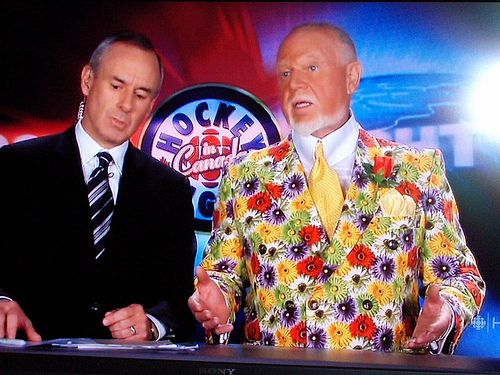 Don Cherry Ron Maclean Don Cherry Canadian Things Hockey