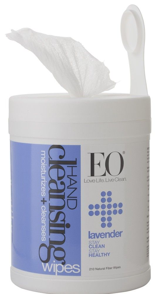 Hand Cleansing Wipes 210 Count Lavender 210 Ct Natural Hand