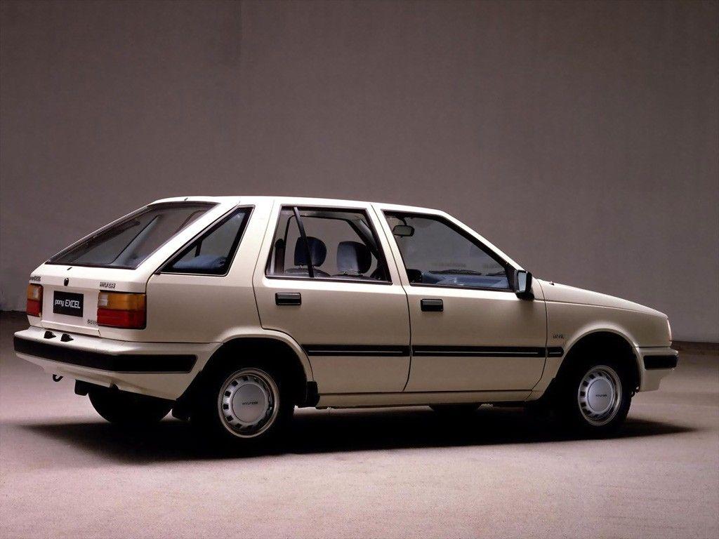 Hyundai Pony Excel 02 1985 03 1989 Hyundai Cars Hyundai Import Cars