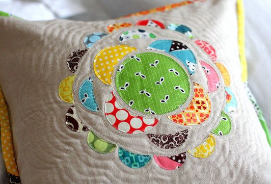 Quilted pillow project